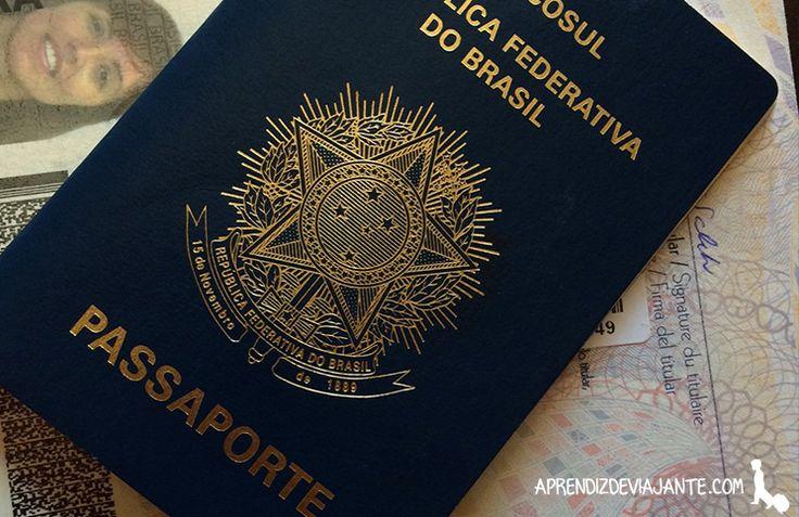 Como tirar passaporte brasileiro- passo a passo