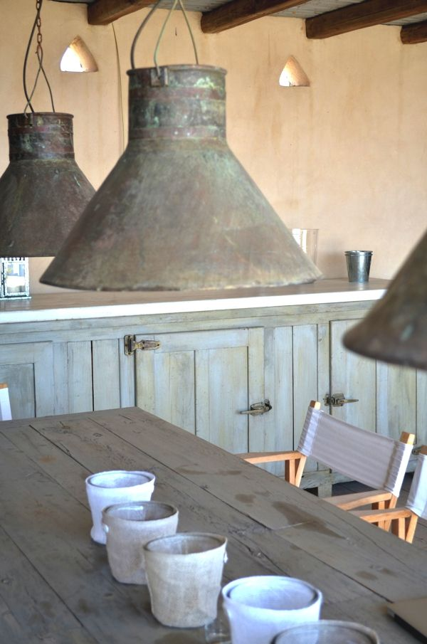 Paros Interior Decoration- Greek Island Shabby Chic