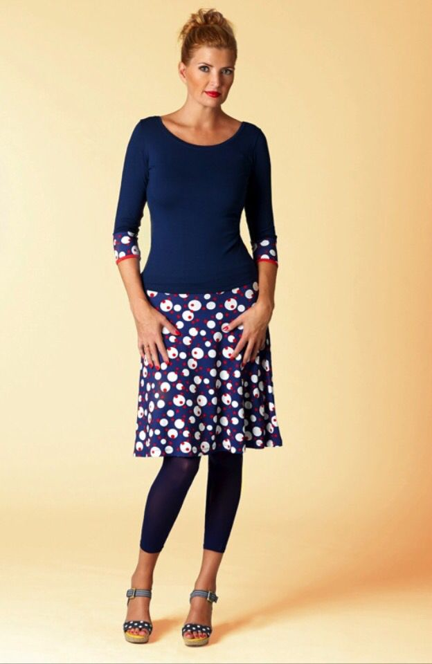 """""""Jumping Julietta"""" skirt and shirt for spring daily-life and parties:)"""