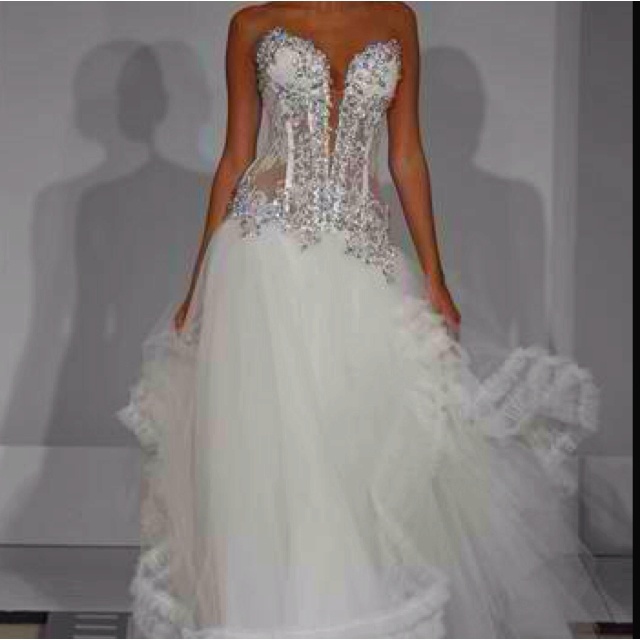 I Do I Do Wedding Gowns: Sexy Bling Corset Panina Tornai Wedding Dress
