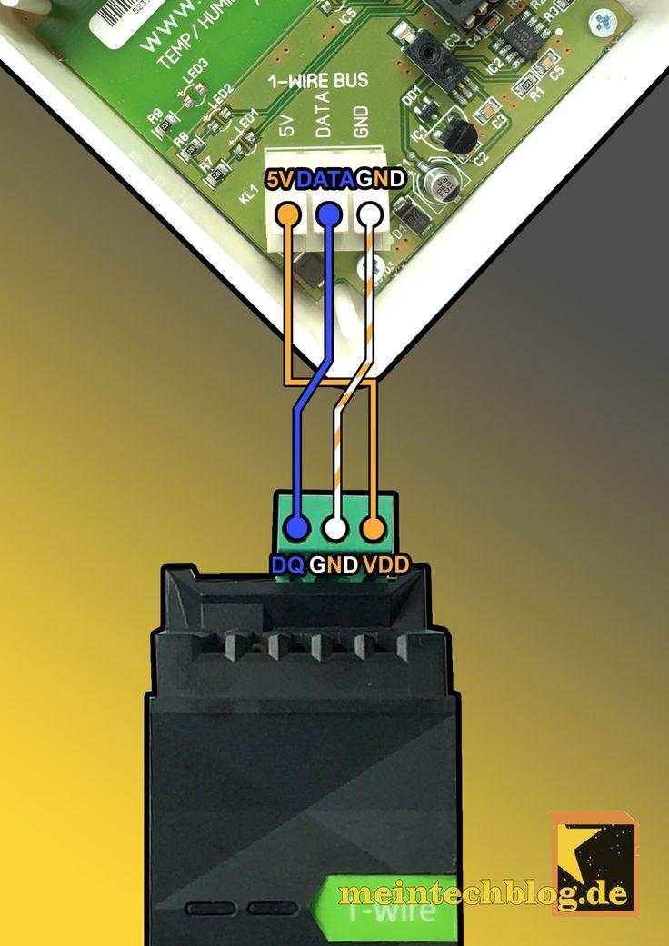 1-Wire Temperatur-Luftfeuchte-Luftgütesensor in Loxone einbinden | meintechblog.de
