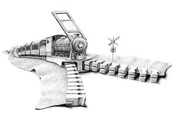 Surreal Drawings by Rodmer Hoekstra