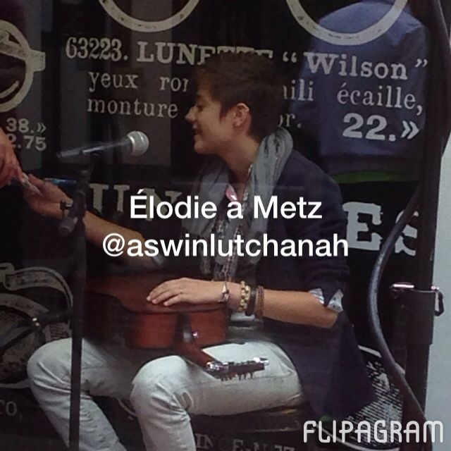 ▶ Élodie à #Metz  ♫ #Music: Elodie - Another Love (The Voice Performance) #TheVoice #Elodie - http://flipagram.com/f/CcaadBz0LT