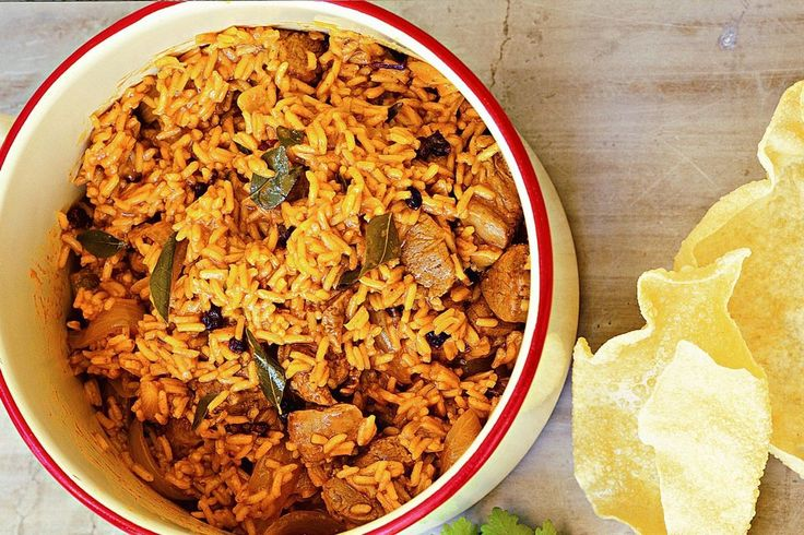 A delicious one-pot wonder, biryani can be served on its own or as part of a banquet.