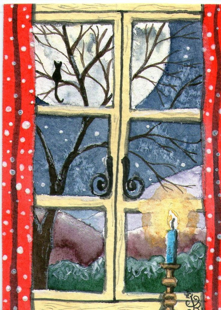 Moonframed....view over Winchett Dale from Matlock's bedroom window.