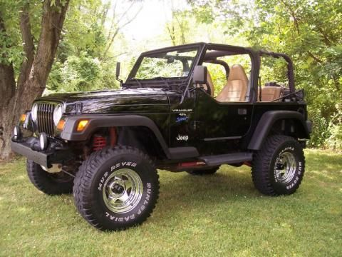 jeep+sport+wrangler+for+sale | Used 1997 Jeep Wrangler Sport 4x4 for Sale - Stock #97lift jee