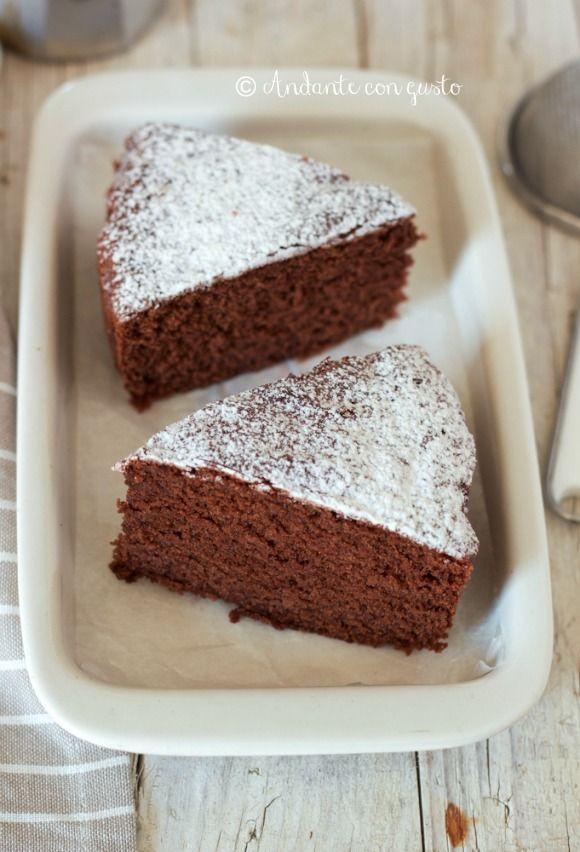 """Andante con gusto: Torta al cioccolato dei """"5 Minuti"""": il drammatico potere del riordino."""