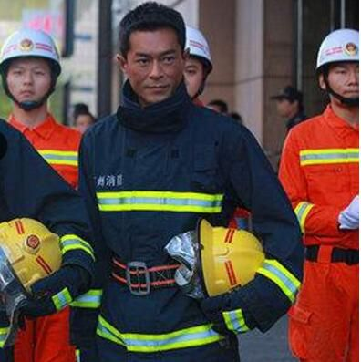 Fire suit fire fighting clothing fire resistant fire fighting suit 02 style  blue color Fireman overalls