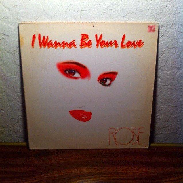 "Rose I want to be your love 12"" single vinyl hi nrg Italo Disco Cali Disco"