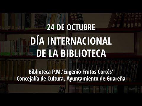 Biblioteca Eugenio Frutos: Préstamos y regalos.