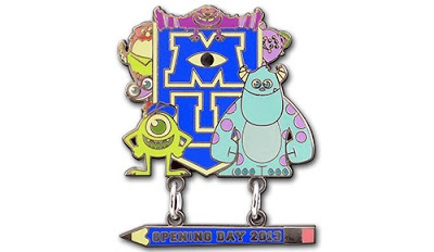 Monster's University Disney Pin!