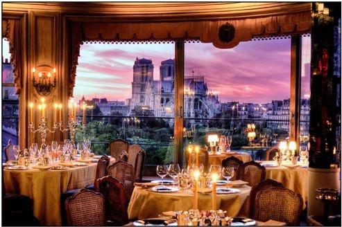 vue du restaurant la tour d argent paris reves pinterest. Black Bedroom Furniture Sets. Home Design Ideas