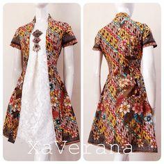 Kebaya kutubaru dress Instagram @xaverana
