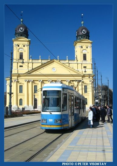 Great Reformed Church, Debrecen #Hungary #church