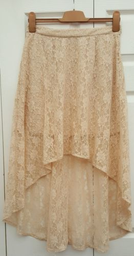18€ Forever-21-lace-nude-bas-hi-jupe-taille-m
