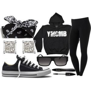 polyvore swag outfits girls - Google Search YMCMB