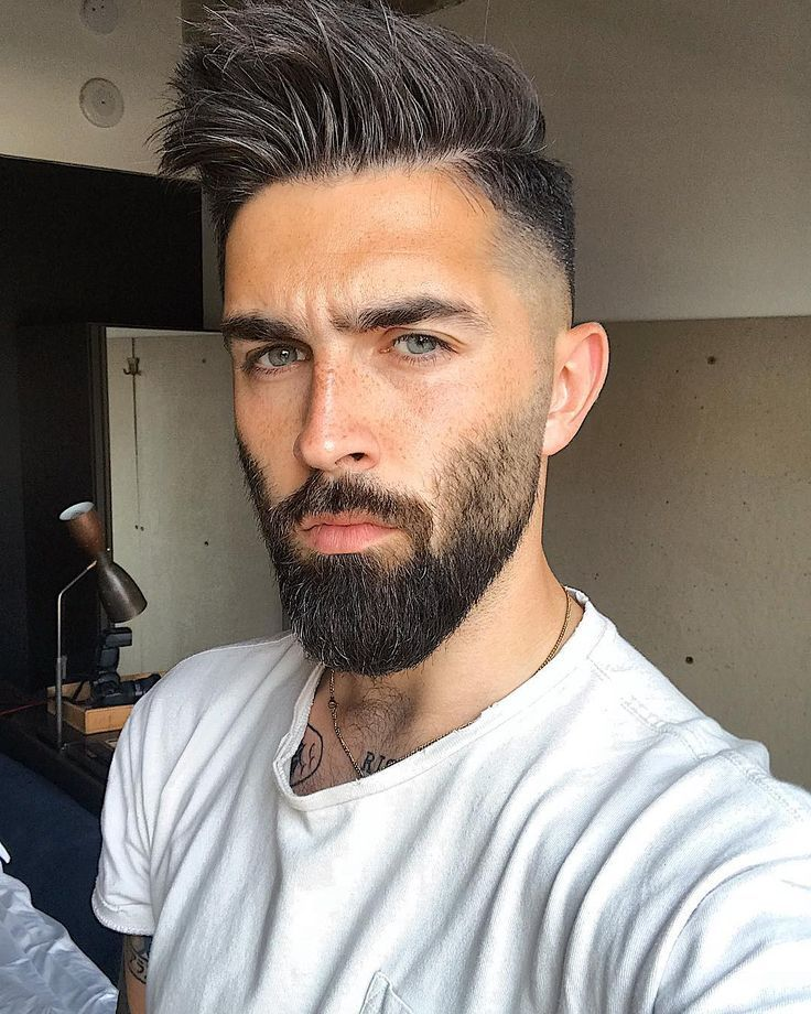 Das Haar Ist So Hoch Dass Es Dort Oben Kitzelt Zeit Fur Einen Haarschnitt Nochmal M Einen Beard Styles Short Beard Styles Bald Beard Styles For Men