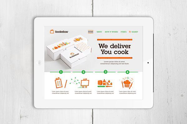 FooderBox by KEJJO ', via Behance