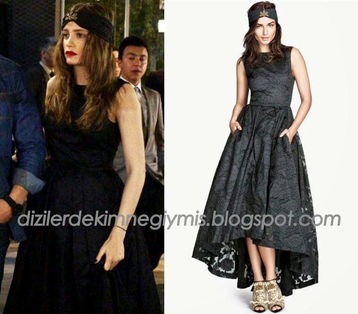 Medcezir - Mira (Serenay Sarıkaya), H&M Navy Dress