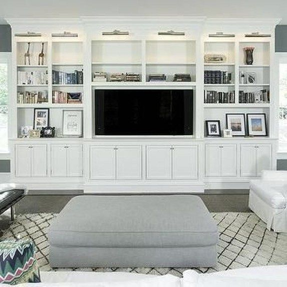 Best 46 Amazing Bookshelves Decorating Ideas For Living Room 400 x 300