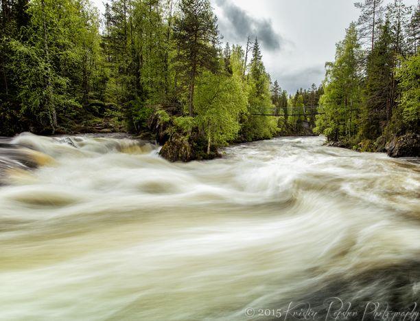 Myllykoski, Kuusamo, Finland - Oulanka National Park, near Ruka in...