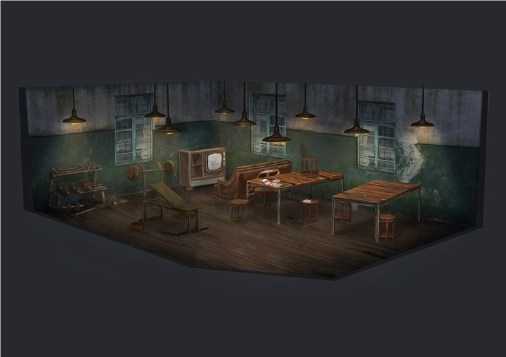 Project Discord - Indie Video Game ~ Common Room