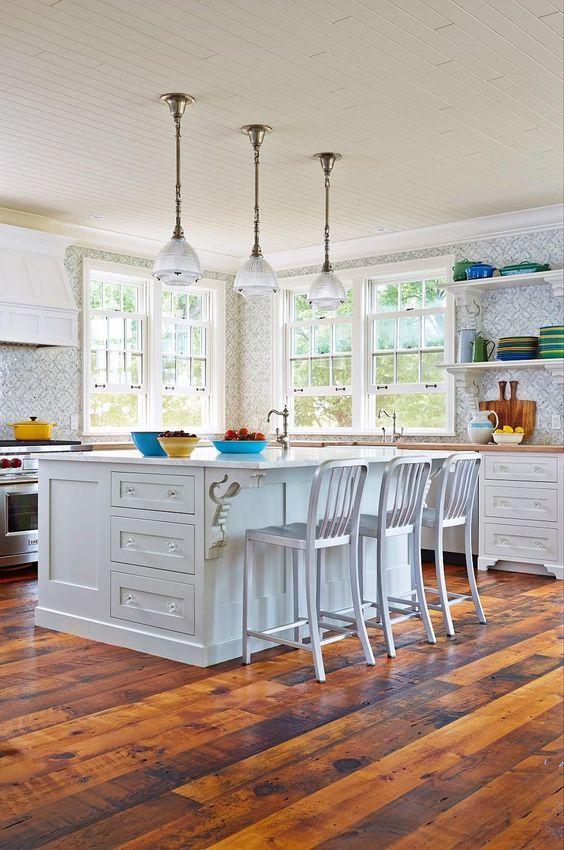 29+ Kitchen Flooring Ideas & Design | 1 | Pinterest | Flooring ideas ...