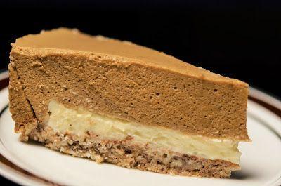 Spisekammeret: Irsk kaffe kage med trøffel af hvid chokolade og w...
