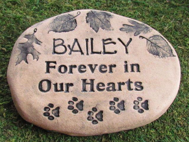 28 best pet memorial stones images on pinterest garden stones pet a personal favorite from my etsy shop httpsetsy memorial garden stonesdog workwithnaturefo
