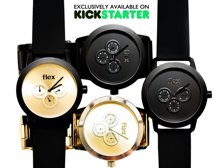 Flex Watches Just Launched The Sickest Watches Ever!
