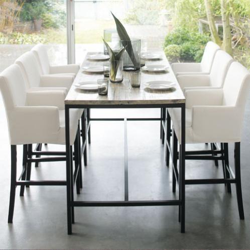 Table à dîner haute LONG ISLAND