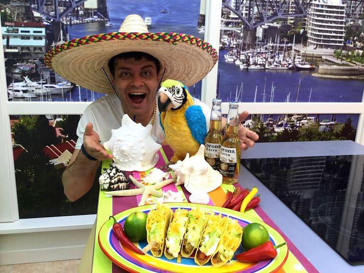 Nejchutnější recept na Tacos, salsa Pico de Gallo a Guacamole, Vařte s M...