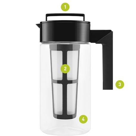 Cold Brew Coffee Maker Large : Takeya Cold Brew Coffee Maker Cold Brew Coffee Pinterest Cold brew, Cold brew coffee ...