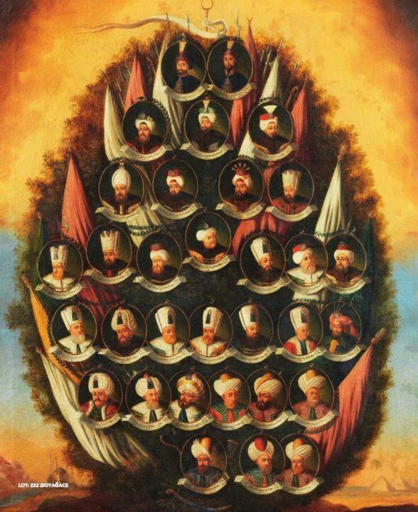 Ottoman Empire Sultans