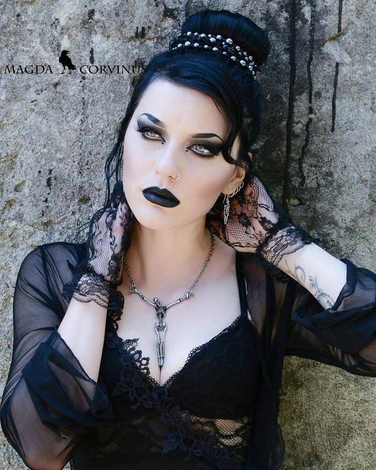 """magdacorvinus: """"Fresh from the new @alchemyengland catalogue I really love this set of jewellery . . . . . #gothmakeup #alternativegirl #altmodel #alchemygothic #alchemyengland #myalchemy..."""