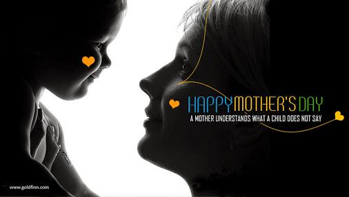 God could not be everywhere, and therefore he made Mothers.  Happy Mother's Day!