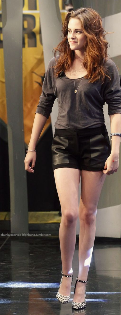 #Alternative Apparel top, #Rebecca Minkoff shorts, and (to die for) #Barbara Bui heels.