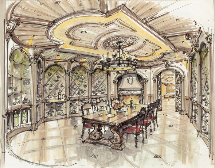 Interior Design Color Sketches 280 best image inspiration images on pinterest | sketch design