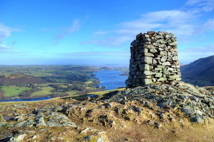 Lake District Walk: Hallin Fell, 2.0km (1.2 miles), difficulty rating 1/5. Near to Glenridding/Patterdale, Penrith, Ullswater.