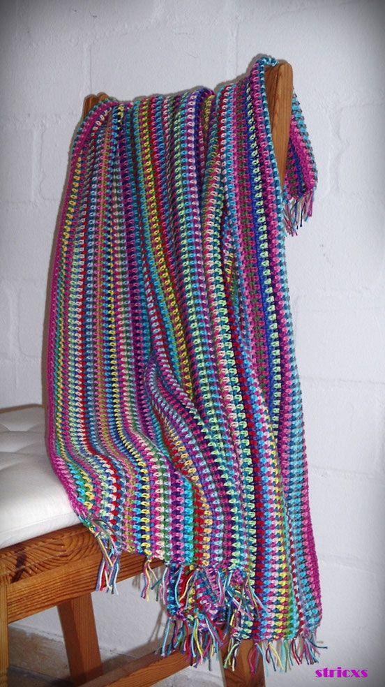 Anleitungen stricken pinterest for Decken streichen leicht gemacht
