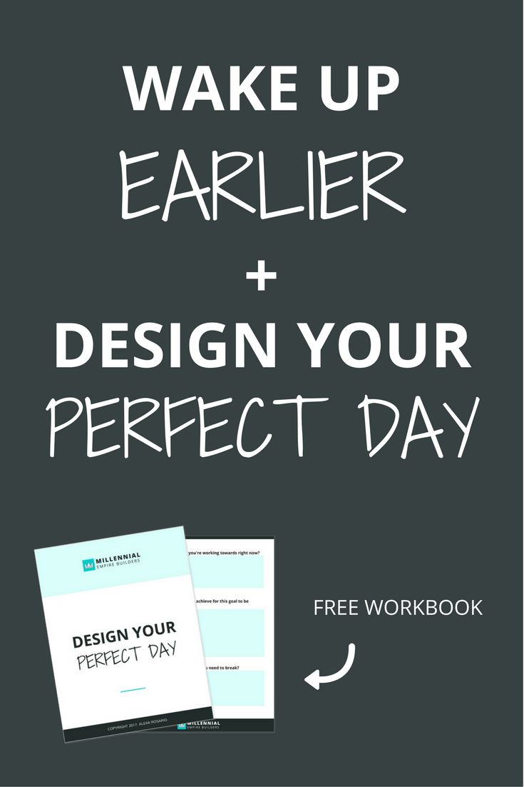 We don't decide if we're going to succeed or fail in one day... It's a series of little decisions that add up to the sum of our lives. Take control of your day. Wake up earlier and follow a schedule so that you are making consistent progress towards your goals. Click through to download the free workbook.