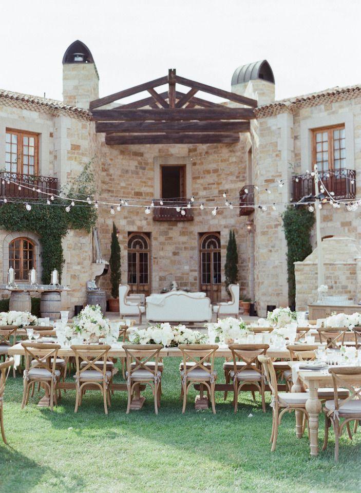 Sunstone Villa wedding venue. Cozy seating.