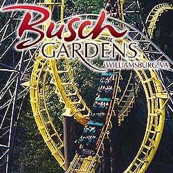 Busch Gardens Williamsburg Va 20 Discount Coupon Gardens Bush Garden And Amusement Parks