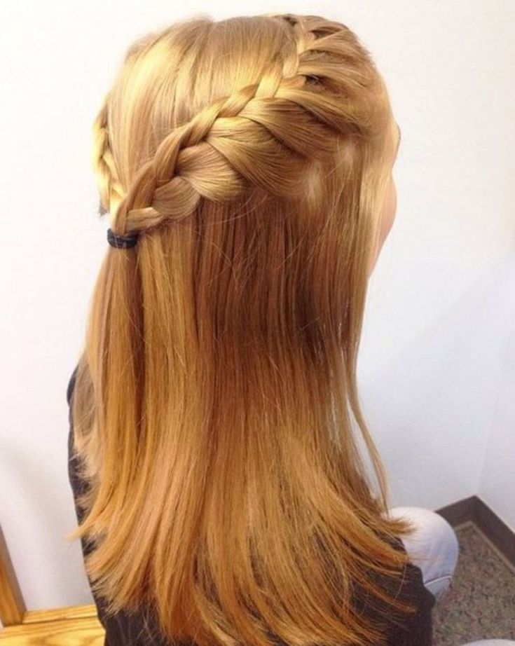 50 Half Updos for Your Perfect Everyday and Party Looks | Half updo, Straight hairstyles, Pin ...