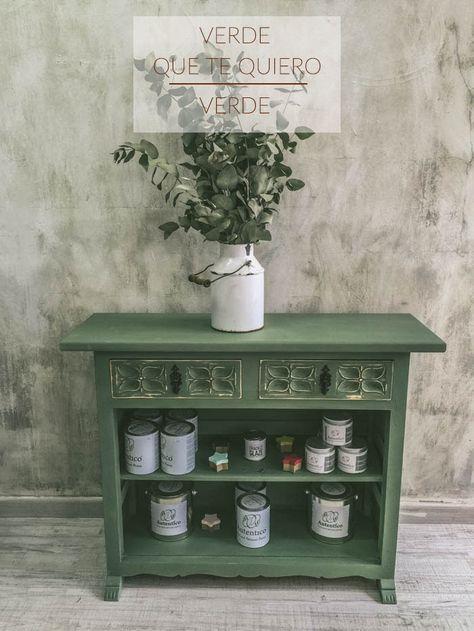 17 mejores ideas sobre muebles pintados de verde en pinterest colores de pintura de muebles for Quiero ver muebles