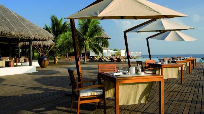 Latitude restaurant på Coco Bodu Hithi, Maldiverne