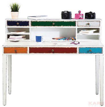 Kare design ~ Desk Harlekin White