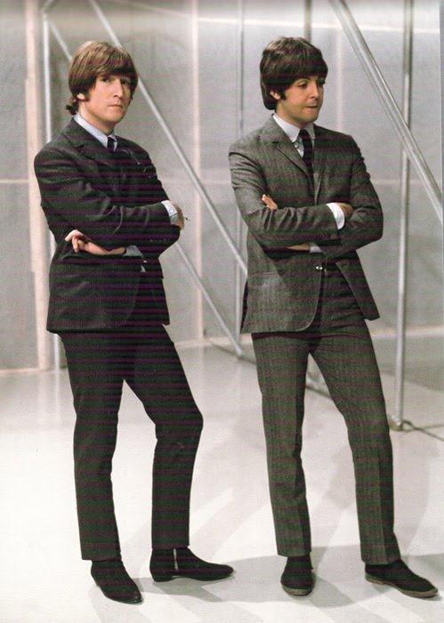 .At the filming of 'The Music Of Lennon & McCartney' November 1965