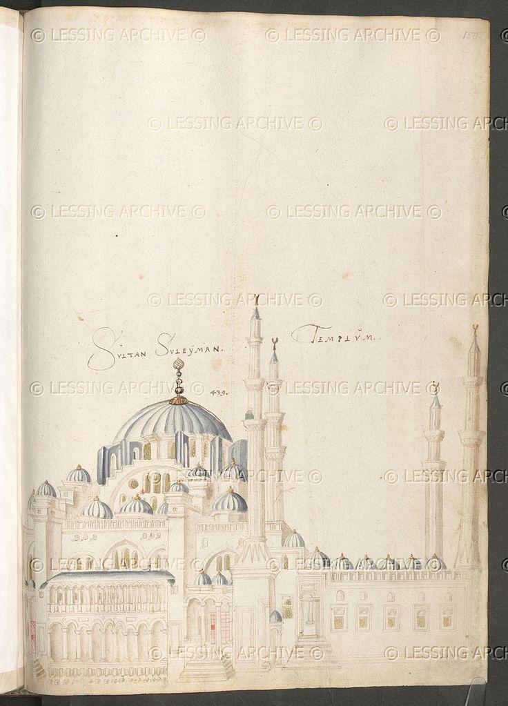The Süleymaniye Mosque.