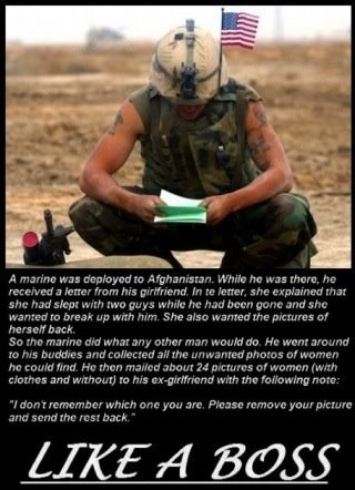 .: This Man, Us Marines, Like A Boss, Soldiers, Funny Pictures, Stay True, Breakup, Likeaboss, Break Up